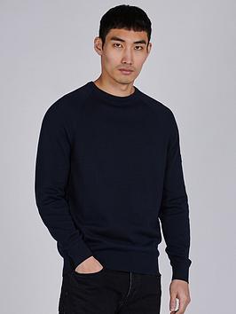 barbour-international-arm-badge-knitted-jumper-navynbsp
