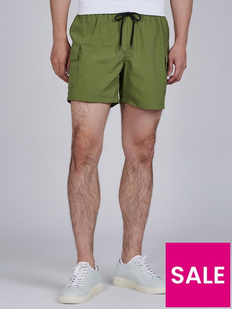 barbour-international-cargo-detail-swim-shorts-greennbsp
