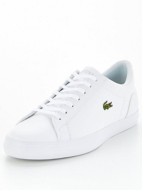 lacoste-lerond-bl21-leather-trainers-white
