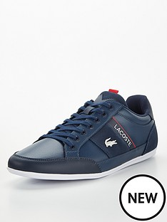 lacoste-chaymon-leather-trainers-navy