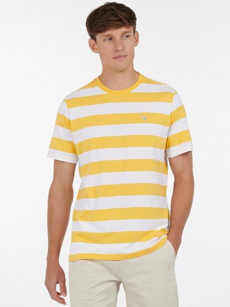 barbour-bleach-stripe-t-shirt-yellownbsp