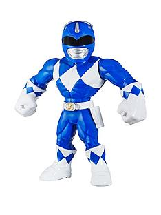 power-rangers-playskool-heroes-mega-mighties-power-rangers-mighty-morphin-power-rangers-blue-ranger-25-cm-figure-collectible-toys-children-aged-3-and-up