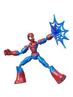 spiderman-marvel-spider-man-bend-and-flex-spider-man-action-figure-toy-15-cm-flexible-figure-includes-web-accessory-for-children-aged-6-and-up