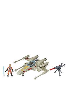star-wars-star-wars-mission-fleet-stellar-class-luke-skywalker-x-wing-fighter-25-inch-scale-figure-and-vehicle-toys-for-kids-ages-4-and-up