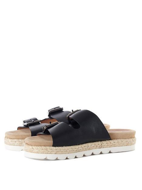 barbour-leathernbsplola-sandal-black