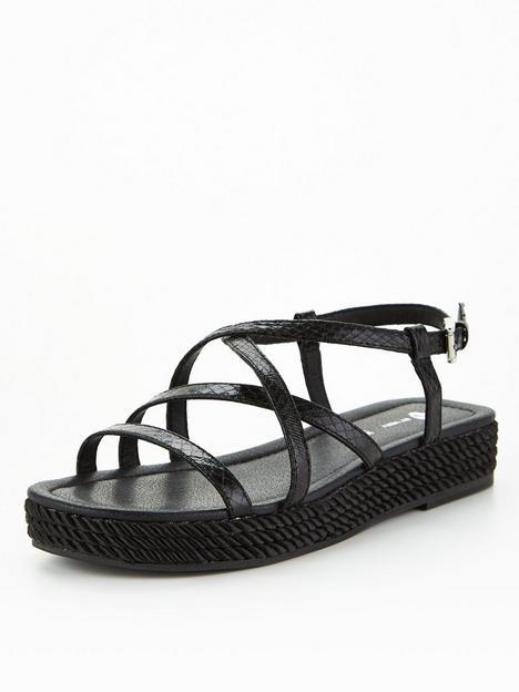 v-by-very-strappy-rope-trim-sandal-black