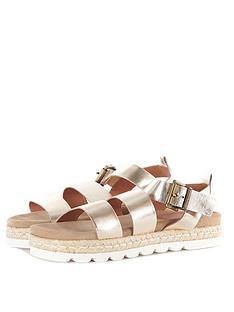 barbour-leathernbspgabbie-sandal-gold