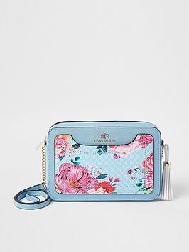 river-island-floral-monogram-boxy-crossbody-bag-blue
