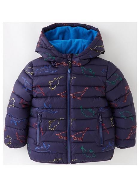 mini-v-by-very-boys-fleece-lined-dino-print-padded-coat-ndash-navy
