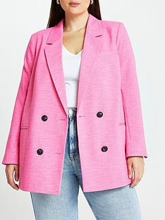 ri-plus-double-breasted-blazer-pink