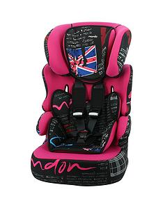 nania-london-colours-beline-sp-group-123-high-back-car-seat
