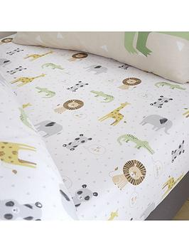 catherine-lansfield-roarsome-animalsnbspfitted-sheet-toddler