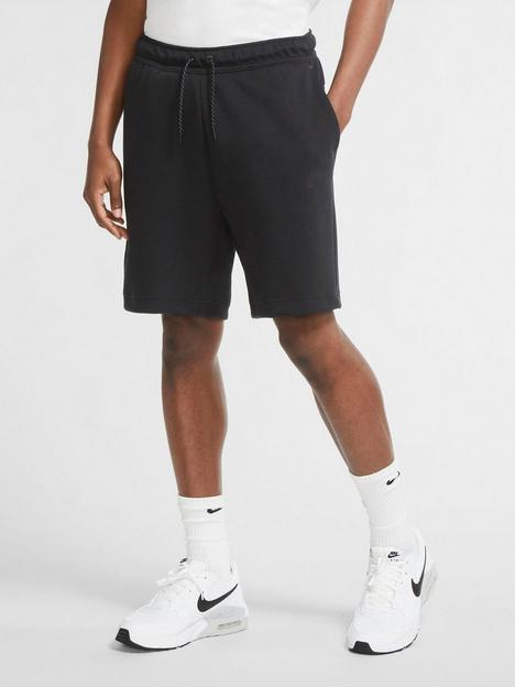 nike-tech-fleece-shorts-black