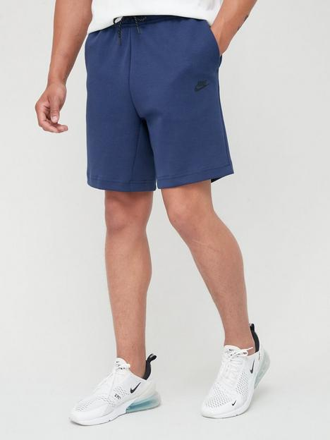 nike-tech-fleece-shorts-navy