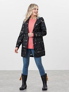 joules-printed-waterproof-packaway-jacket-black