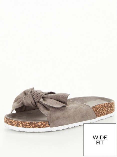 v-by-very-wide-fitnbspbow-footbed-sandal-grey