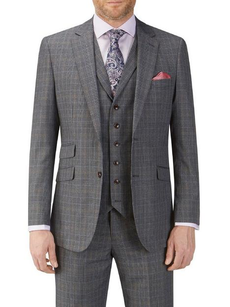 skopes-witton-tailored-jacket-grey-checknbsp