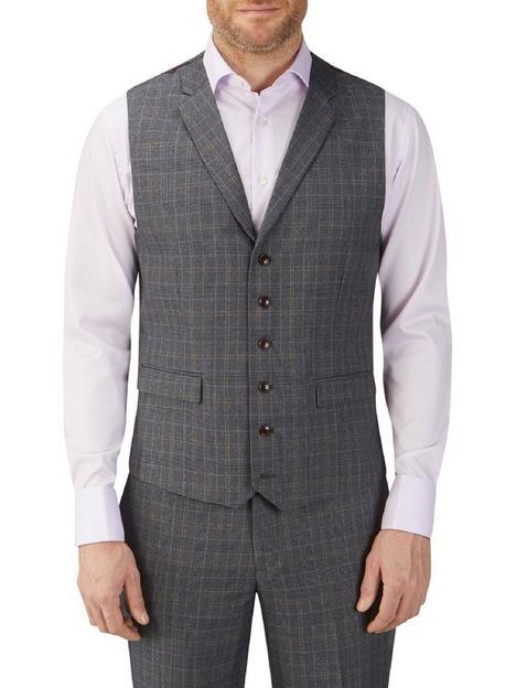 skopes-witton-standard-waistcoat-grey-check