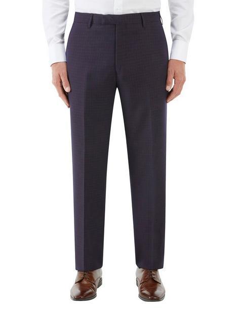skopes-mac-tailored-trouser-navy-checknbsp