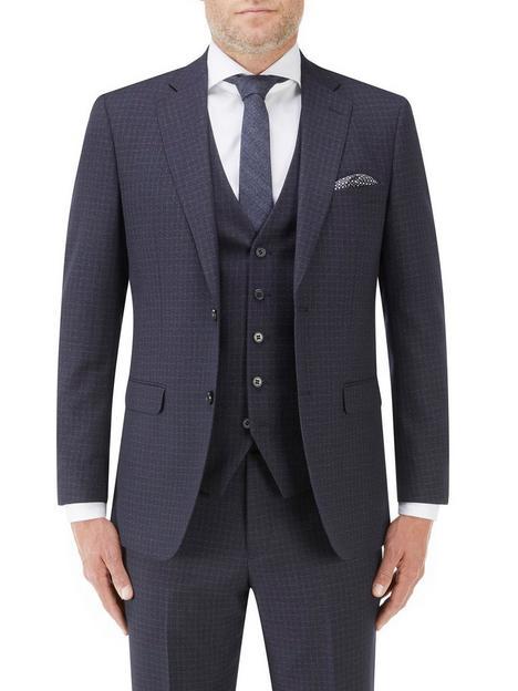 skopes-mac-slim-jacket-navy-check