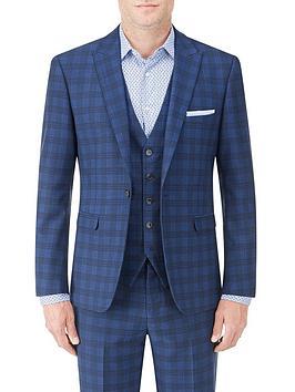 skopes-felix-tailored-jacket-blue-check