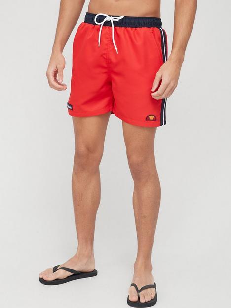 ellesse-genoa-swim-shorts-red