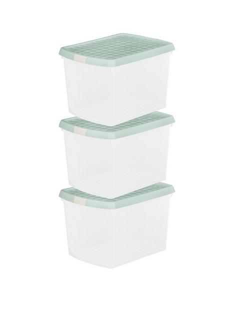 wham-set-of-three-215-litre-clip-rectangular-storage-boxes-with-lids