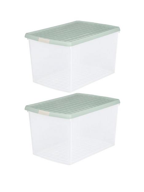 wham-set-of-two-62-litre-clip-rectangular-storage-boxes-with-lids