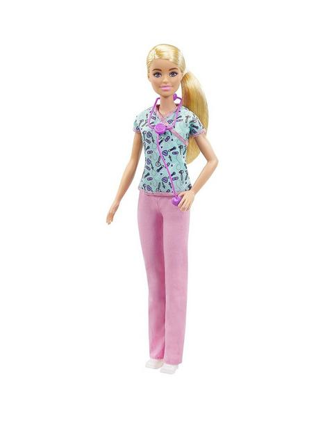 barbie-careers-nurse-doll-with-scrubs-clothes-and-accessories
