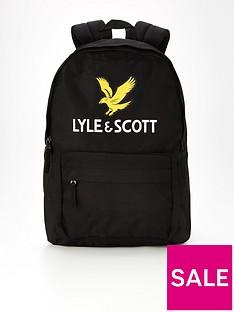 lyle-scott-eagle-backpack-black