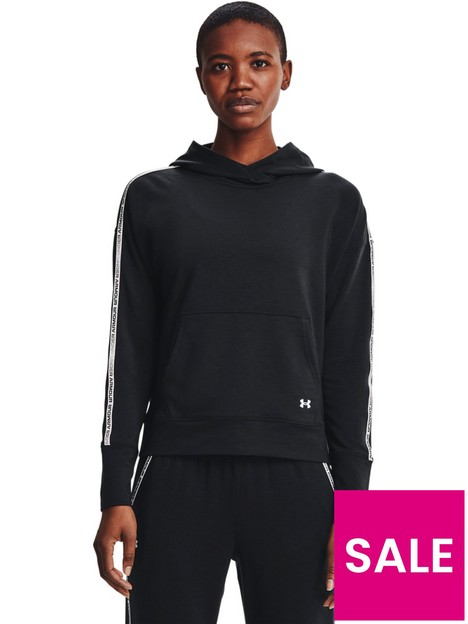 under-armour-rival-terry-taped-hoodie-blackwhite