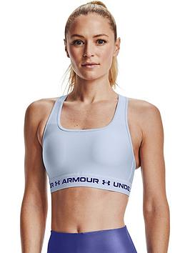 under-armour-crossback-mid-bra-blue