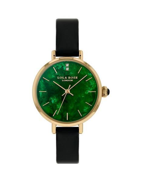 lola-rose-lola-rose-emerald-diamond-dial-black-leather-strap-ladies-watch