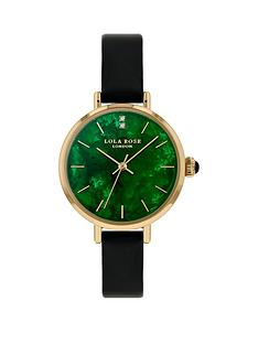 lola-rose-lola-rose-emerald-diamond-dial-black-leather-strap-ladies-watch