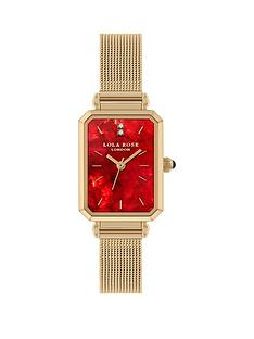 lola-rose-lola-rose-ruby-diamond-dial-gold-stainless-steel-mesh-strap-ladies-watch