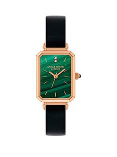 lola-rose-lola-rose-malachite-diamond-tank-dial-black-leather-strap-ladies-watch