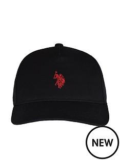 us-polo-assn-boys-core-baseball-cap-black