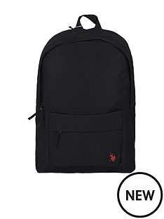 us-polo-assn-boys-core-backpack-black