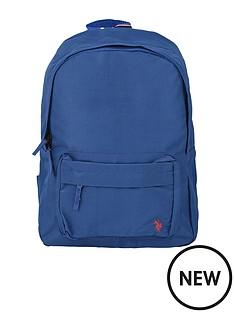 us-polo-assn-boys-core-backpack-blue