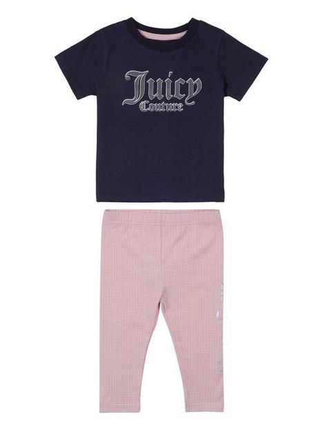 juicy-couture-toddler-girls-dot-print-tee-and-legging-set-navypink