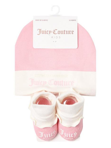 juicy-couture-baby-girl-hat-and-bootie-set-pink
