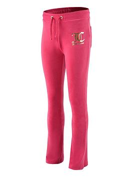 juicy-couture-girls-velour-bootcut-jogger-pink