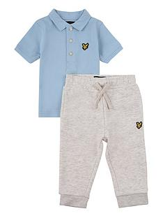 lyle-scott-toddler-boys-tipped-polo-and-jogger-set-sky-blue
