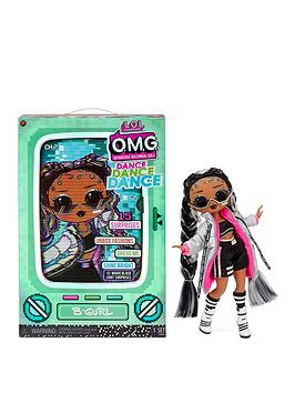 lol-surprise-omg-dance-dance-dance-b-gurl-fashion-doll-with-15-surprises-including-magic-blacklight-shoes-hair-brush-doll-stand-and-tv-package