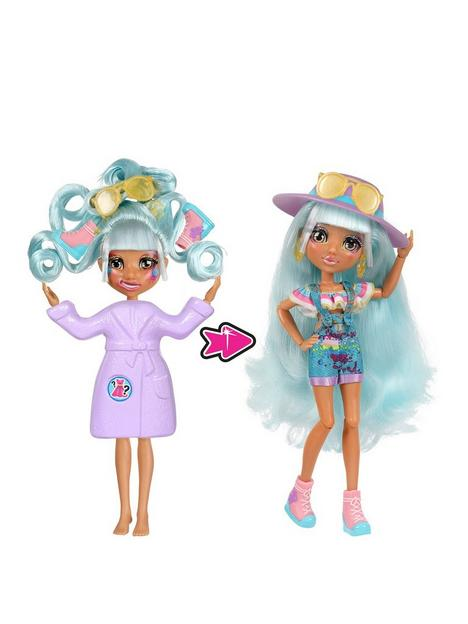 failfix-failfix-prettyartee-total-makeover-doll-pack-85-inch-fashion-doll-with-long-blue-restylable-hair-and-transforming-face-surprise-fashion-reveal-and-accessories
