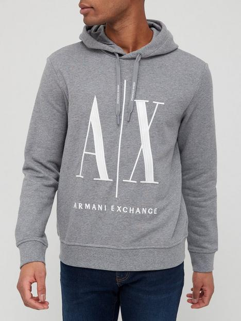 armani-exchange-icon-logo-overhead-hoodie-grey