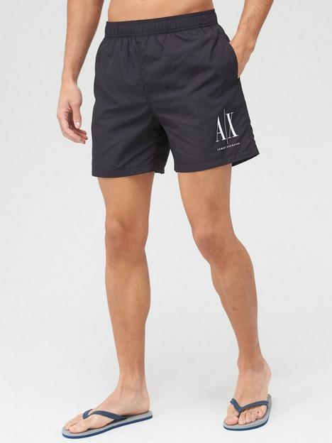 armani-exchange-icon-logo-swim-shorts-black