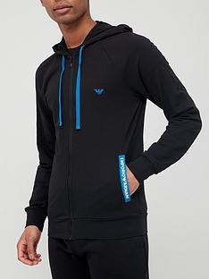 emporio-armani-bodywear-french-terry-lounge-zip-thru-hoodie-black