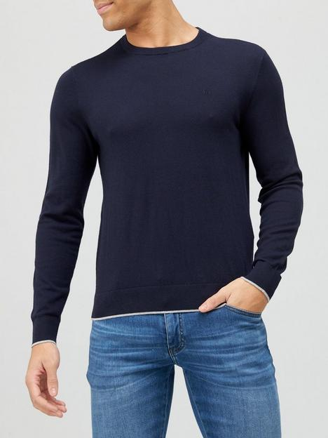 armani-exchange-classic-knitted-jumper-navy