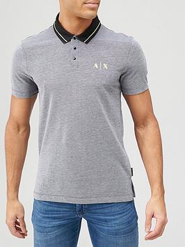 armani-exchange-contrast-collar-polo-shirt-charcoal
